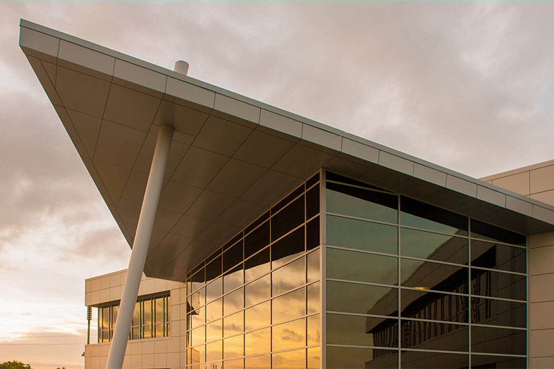 Benteler Steel Tube Fire Rated Curtain Wall Case Study