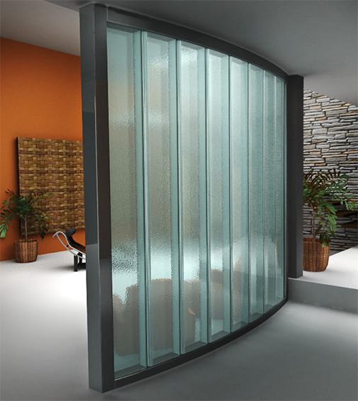Pilkington Profilit Texture Tool Channel Glass Textures